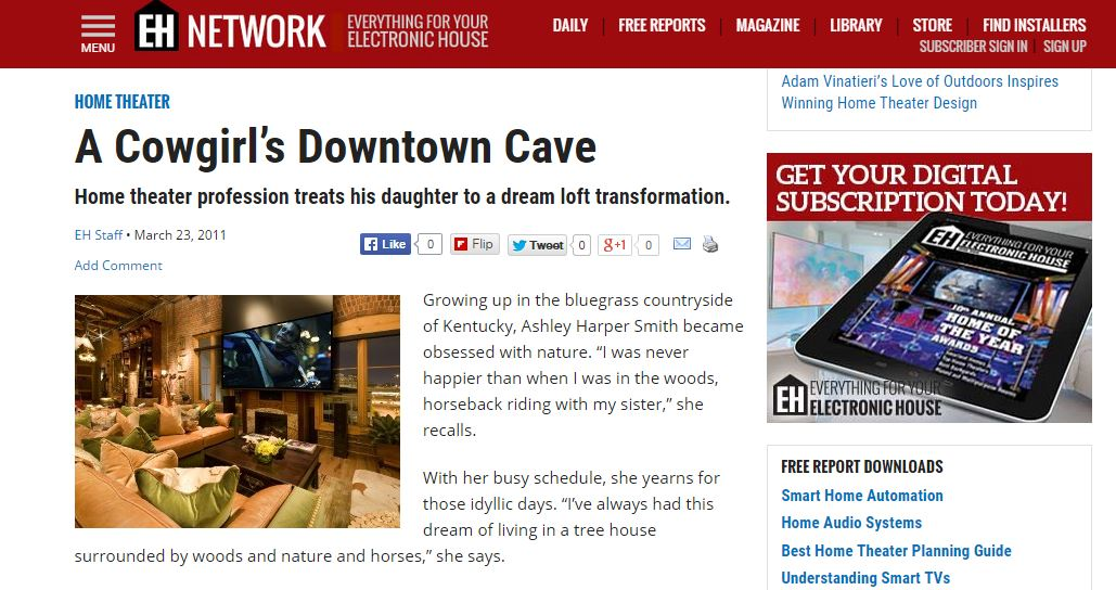 A Cowgirl's Downtown Cave